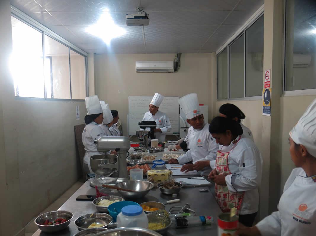 Cátedra de alimentación y preparación